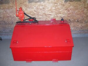 FUEL TIDY TANK & TOOL BOX COMBO