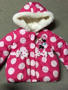 Minnie Mouse Winter Coat