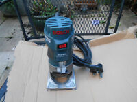 "Bosch GKF 600 1/4"" Palm Router/Laminate Trimmer"