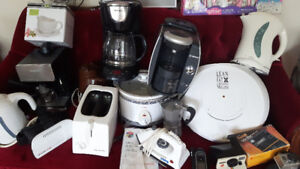 Àssorted coffee makers