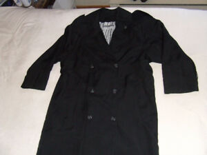 Ladies Apropos Full Length Trench Coat - 7 - $10.00