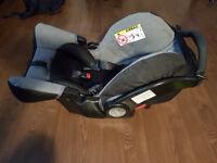 Graco Snugfix Infant Car Seat (Group 0+)