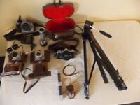 Variuos Cameras And Eqipment