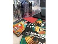 Hifi Minidisc (used and brand new)