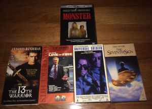 Choose Any 5 VHS/DVD's for $10 Kids Horror Comedy 80's 90's Cult