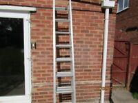 3 section Aluminium Ladders
