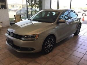 2013 Volkswagen Jetta 2.5L Highline LEATHER! HEATED SEATS! BL...