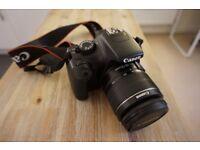 Canon EOS 1100D 12.2MP Digital SLR Camera - Black (Kit w/ EF-S IS II 18-55mm Lens) + Lowepro Bag