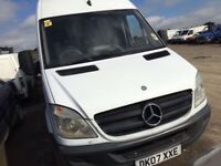 Mercedes Benz sprinter 313cdi lwb high top new shape parts available