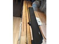Diawa 11ft feeder rod, 2 mega tops, Rod holdall, As new used twice a bargain at £200