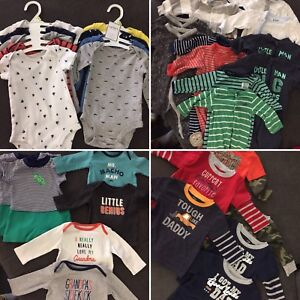 Huge lot of twin boy 3 - 6 month clothes!