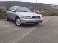 1998 A4 AUDI 1.9 TDI SALOON VERY GOOD CONDITION MOT NOV 2017 NEW TYRES AND EXAUST