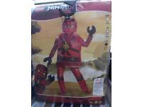 Ninjago Kai costume (age 10-12)