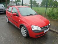 Vauxhall Corsa 1.0i 12V Active, 5 door, 2003 (03)