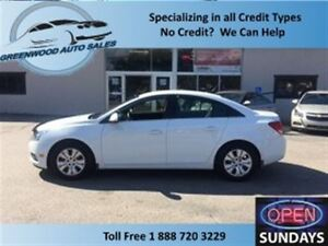 2012 Chevrolet Cruze LOW KM! FINANCE NOW