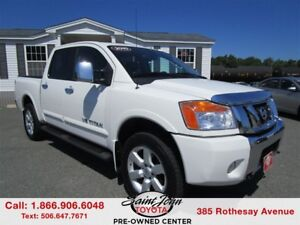 2010 Nissan Titan LE with Leather