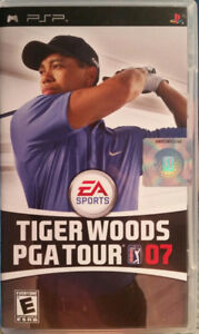 Tiger Woods PGA Tour '07 - PSP