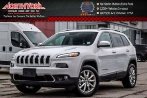 2017 Jeep Cherokee Limited|4x4|Nav.|Backup_Cam|Bluetooth|Leather