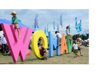 Womad festival weekend camping