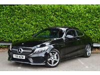 Mercedes-Benz C220 2.1d ( 170bhp ) d ( s/s ) 9G-Tronic Plus 2016.5MY AMG Line