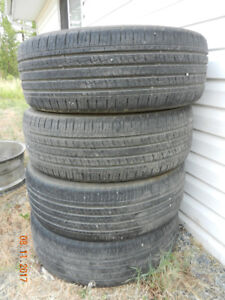 For sale 4 used tires Kumho MS