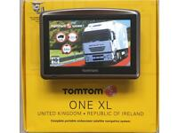 Tom Tom XL HGV, Latest V991 Europe Truck Map, Boxed Like New, August 2017 !!!