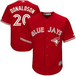 Brand new:Blue Jays Donaldson/Tulow/Martin RED men/Youth,S,M,L