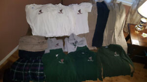 Large Variety of Holy Cross Uniforms (Girls/Womens)