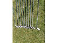 Set Mens Apollo R Flex Golf Clubs (Made in England)