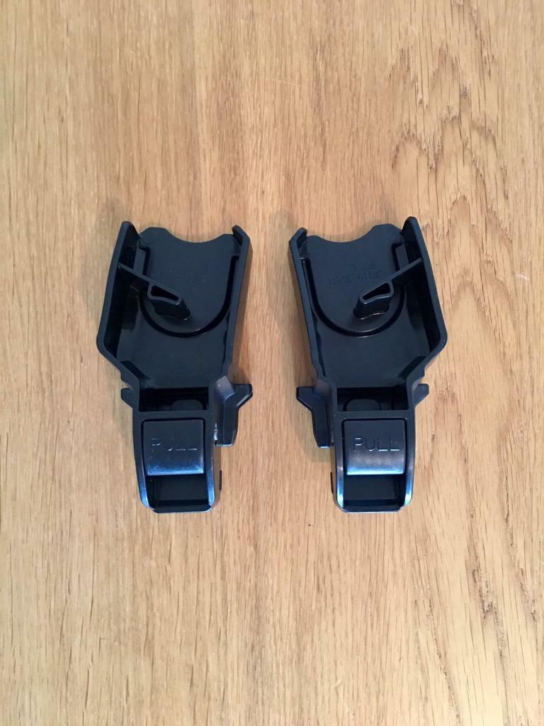 joie chrome car seat adapters for joie gemm maxi cosi cybex aton in brentford london gumtree. Black Bedroom Furniture Sets. Home Design Ideas