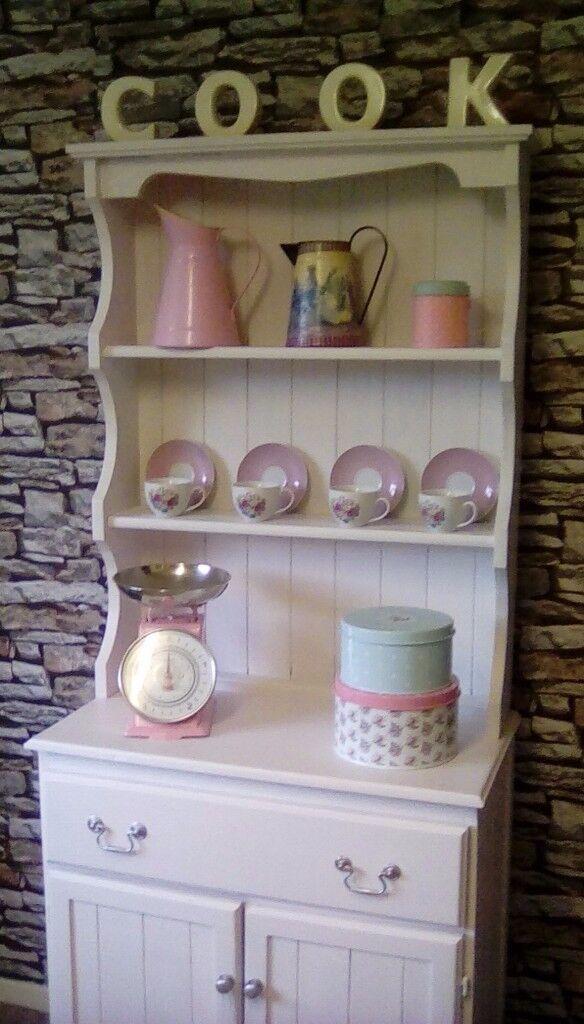 Upcycled Vintage Handmade Kitchen Dining Room Welsh Dresser