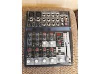 Behringer 1002fx xenyx small format mixer