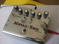 Biyang Metal End Pro Distortion Pedal