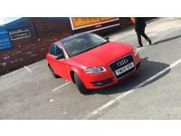 Audi A4 satin red automatic