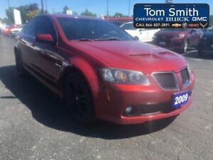 2009 Pontiac G8 4DR SDN - 6 DISC IN DASH CD CHANGER  - Certified