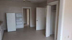 1 bedroom apt ground floor.