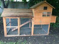 Large Rabbit Hutch/ Hen House