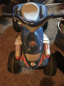 Spiderman battery operated scooter