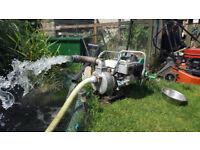 Honda deluxe WD20X 2inch water pump