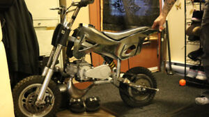 50 cc pocket dirt bike