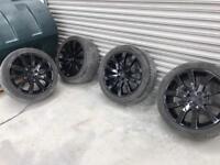 Range Rover/ T5 Vw Transporter wheels