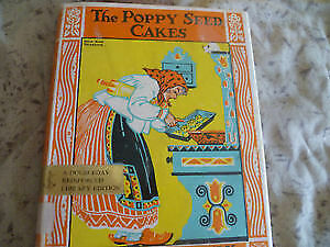Vintage 1924 The Poppy Seeds Cakes Book