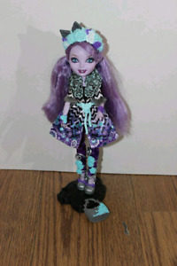 Recherche cette ever after high doll kitty spring
