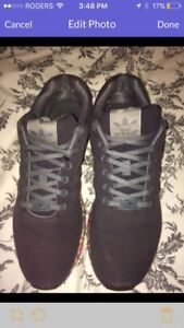 Men's Adidas zx flux running shoes size 12