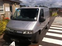 Peugeot boxer for sale 3 seats exceptional room in back