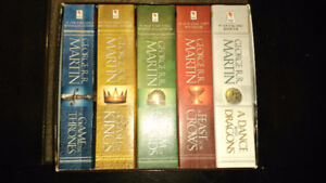 Throne de Fer- Game of thrones - A Song of Fire and Ice: Anglais