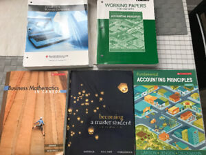 Red River College Intro to BIT Program textbooks
