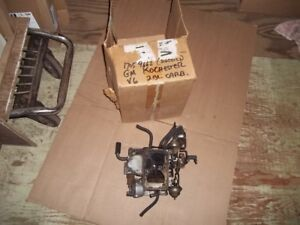 Rochester 2 barrel Carburetor # 17059662 Pontiac 1979 -V6
