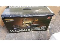 RC 1/16th US M41A3 light tank