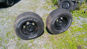 Trailer Wheels & Tires